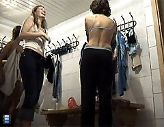 Reality voyeur videos from the ladies' locker room