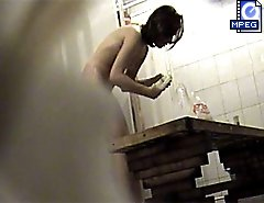 Awesome voyeur shoot from the girls' shower room